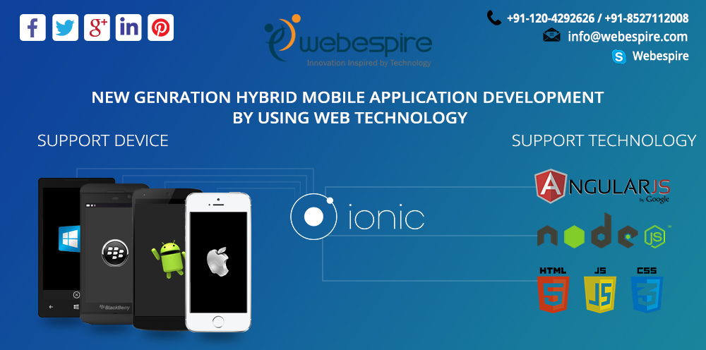 Cross Platform Mobile App Development | Ionic Framework